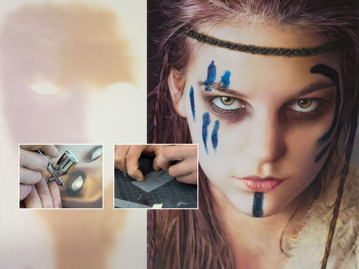 Airbrushed Warrior
