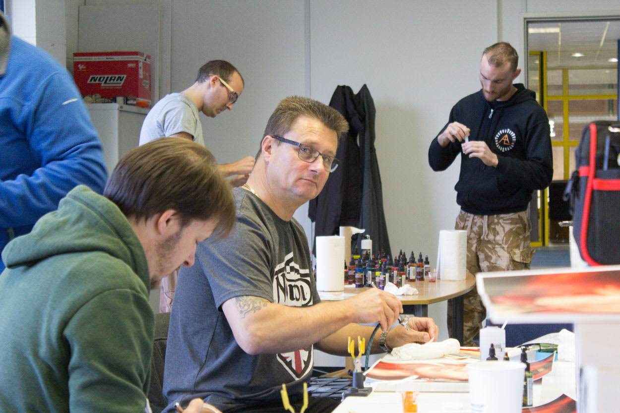 Airbrush course England